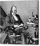 Louis Agassiz, Swiss-american Polymath Canvas Print