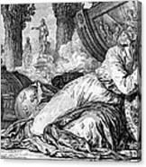 Louis Xv (1710-1774) Canvas Print