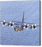 Mc-130p Combat Shadow In Flight Canvas Print