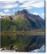 Pioneer Peak Canvas Print