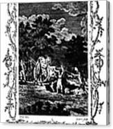 Plague Of London, 1665 Canvas Print