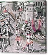 Saladin (1138-1193) Canvas Print