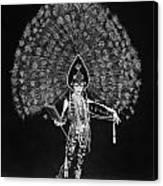 Silent Film Still: Costume Canvas Print