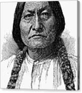 Sitting Bull (1834-1890) Canvas Print
