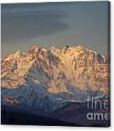 Snow-capped Mountain Canvas Print