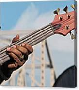 5-string Bass Canvas Print