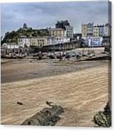 Tenby Harbour From North Beach Canvas Print