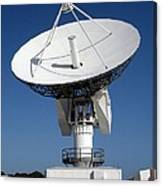 50-foot Dish Antenna At Kennedy Space Canvas Print