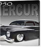 50 Mercury Coupe Canvas Print
