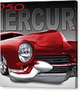 50 Mercury Lowrider Canvas Print
