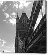 50 Shades Of London Canvas Print