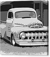 51 Ford Pickup  Canvas Print