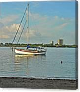 51- Phil Foster Park-singer Island Canvas Print