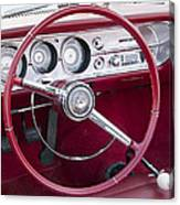 55 Chevy Ss Dash Canvas Print