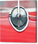 '57 Chevy Hood Ornament 8508 Canvas Print