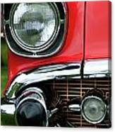 57 Chevy Right Front 8561 Canvas Print