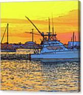 57- Sunset Cruise Canvas Print