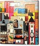 57th  Street Kaleidoscope Canvas Print