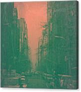 5th Avenue Canvas Print