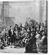 Alessandro Volta, Italian Physicist Canvas Print