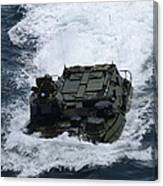 An Amphibious Assault Vehicle Canvas Print