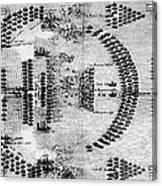 Battle Of Lepanto, 1571 Canvas Print