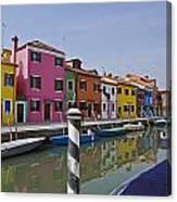 Burano - Venice - Italy Canvas Print
