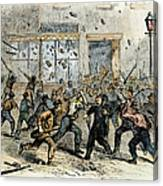 Civil War: Draft Riots Canvas Print