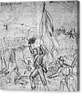 Civil War: Petersburg Canvas Print