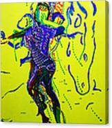 Dinka Dance - South Sudan Canvas Print