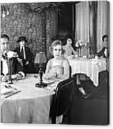Film Still: Eating & Drinking Canvas Print
