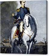 Franklin Pierce (1804-1869) Canvas Print