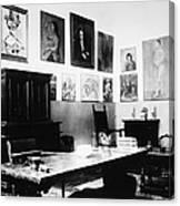 Gertrude Stein (1874-1946) Canvas Print