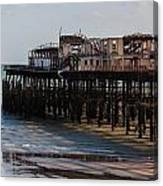 Hastings Pier Canvas Print
