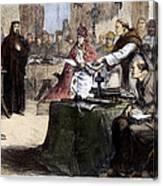 John Wycliffe (1320?-1384) Canvas Print