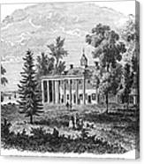 Mount Vernon Canvas Print