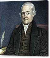 Noah Webster (1758-1843) Canvas Print