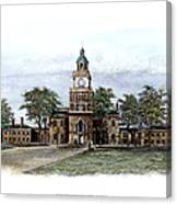 Philadelphia State House Canvas Print
