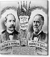 Presidential Campaign, 1904 Canvas Print
