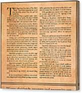 Presidential Campaign, 1928 Canvas Print