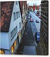 Rothenburg Medieval Old Town  Canvas Print