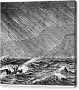 Samuel White Baker Canvas Print
