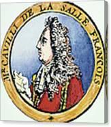 Sieur De La Salle Canvas Print