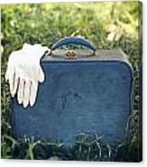 Suitcase Canvas Print
