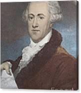William Herschel, German-british Canvas Print