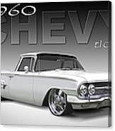 60 Chevy El Camino Canvas Print