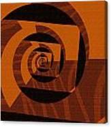 Decoupage Canvas Print