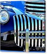 64 Chevy Grill Canvas Print