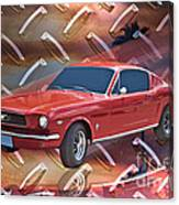 66 Fastback Canvas Print