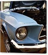 67 Mustang Hcs Canvas Print